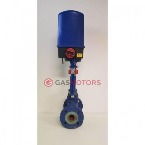 Třícestný ventil s motorem DN80