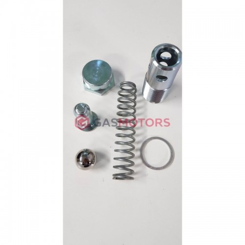Protitlakový ventil - průtok